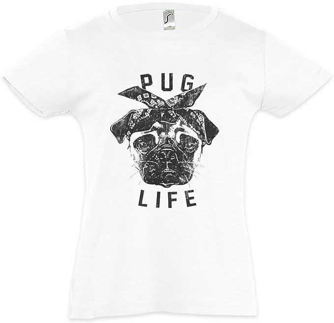 Pug Life I Camiseta para Niñas Chicas niños T-Shirt Mops Möpse Hip Hop  Ghetto Life Gangster OG Criminal Rap Mobster  Amazon.es  Ropa y accesorios 279eeab8b4043