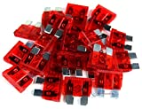Tools & Hardware : 25 pack 10 Amp ATC Fuse Blade Style Scosche 10A Automotive Car Truck