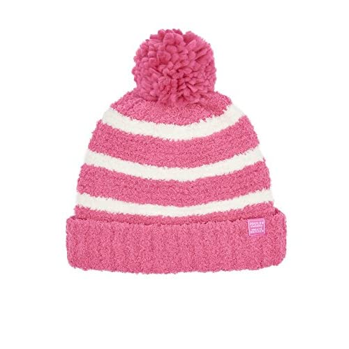 nice Joules Junior Knitted Hat - Bright Pink for sale