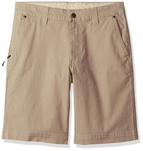 Columbia Men's Flex ROC Comfort Stretch Casual Short, tusk, 44x10