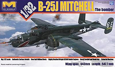 1/32 HK Models B-25J Mitchell Glass Nose Model Kit