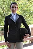 RJ Classics Black/Grey Soft Shell Washington Horse Show Coat 0Re W8506-BLK-0RE