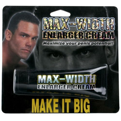 MAX WIDTH enlarger cream penis male sex enhancement thick dick pipedream