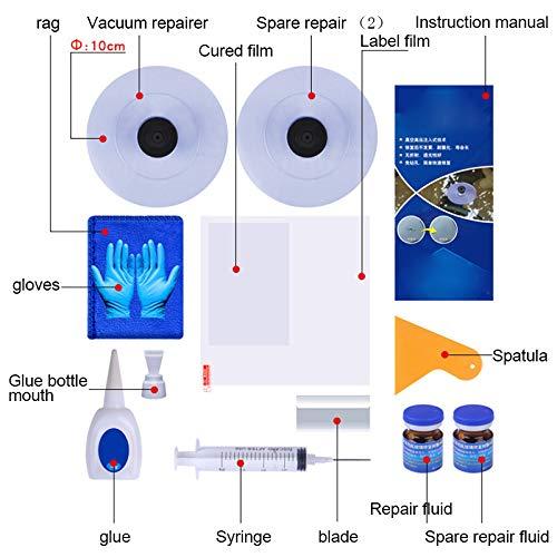 Kratzer Fl/üssigkeit Soulitem Auto-Glas-Windschutzscheiben-Reparaturset langlebiges Set Windschutzscheibe