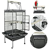 "Super Deal 53""/61""/68"" Large Bird Cage Play Top Parrot Chinchilla Cage Macaw Cockatiel Cockatoo Pet House"