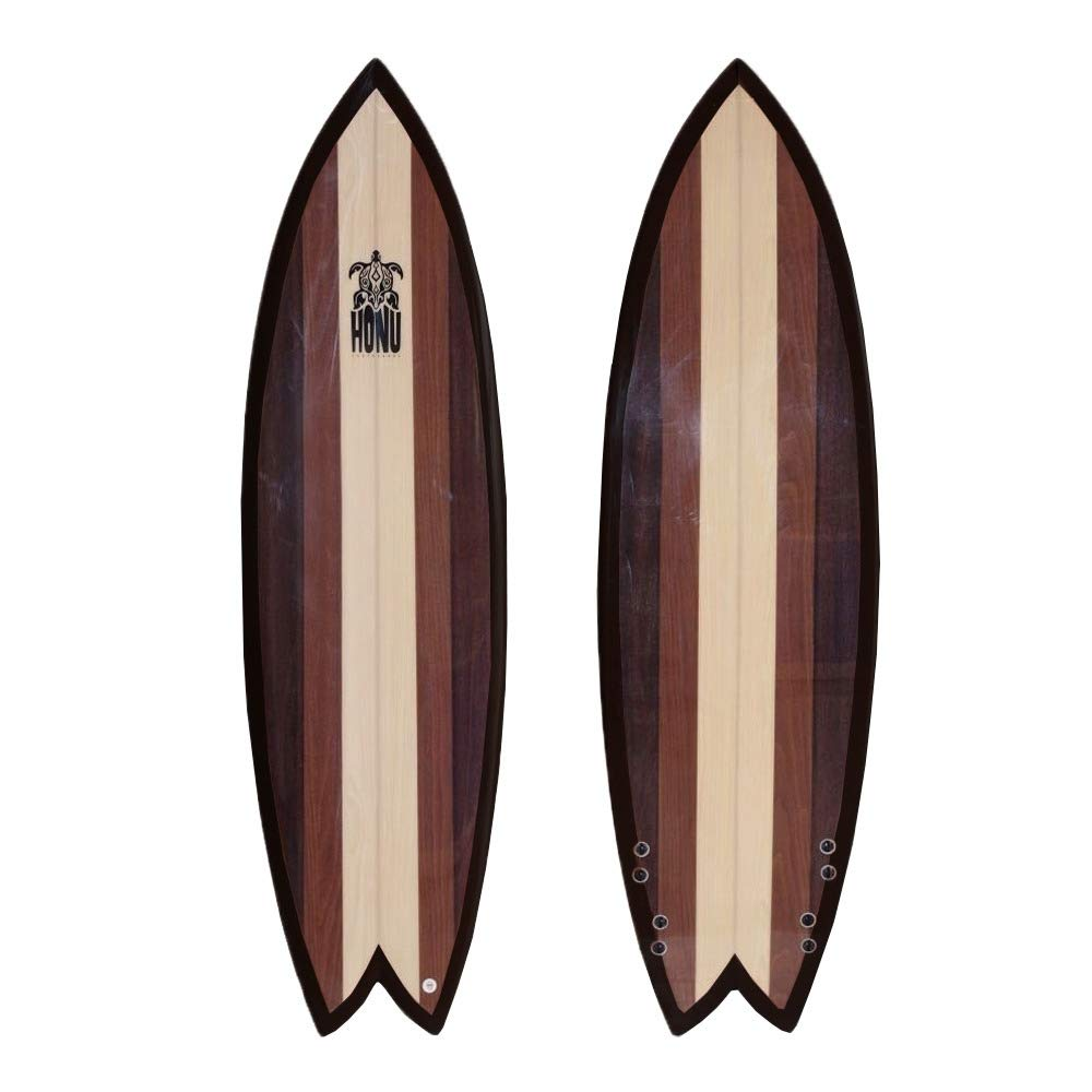HONU - Tabla de Surf Fish 62, diseño Retro: Amazon.es ...