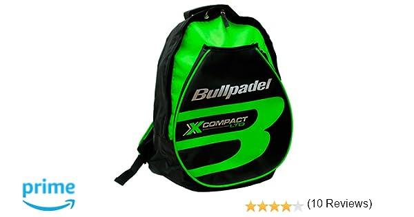 Mochila Bullpadel X-Compact Verde Flúor: Amazon.es: Deportes y aire libre