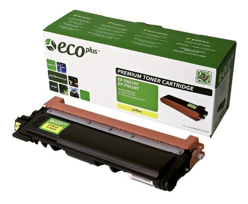 NEW Brother Reman Printer TN210Y ECOPLUS REMAN TONER CARTRIDGE (YELLOW) (ECOPlus) by Non-OEM