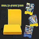 CLOVERCAT 4 Pocket Trading Card Binder, Waterproof
