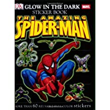 Ultimate Sticker Book: Glow in the Dark: Spider-Man