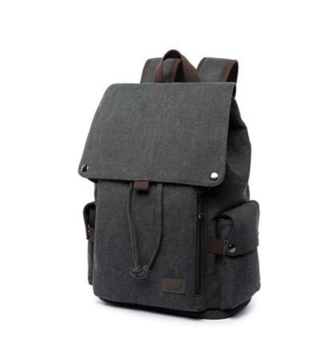 mochila vans granate,mochila portatil,mochila portatil impermeable, lienzo,43*27*16CM,Negro: Amazon.es: Deportes y aire libre