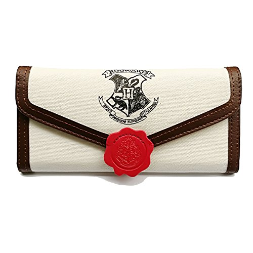 Women's Wallet for Harry Potter Fans Designer Hogwarts Slim Small Card Holder Wallet for ()