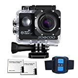 WiFi Action Camera, SOOCOO FHD 1080P 170 Degree Wide Angle Lens Camcorder 2