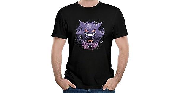 Amazon.com: ILONSE Ghastley Haunter Gengar - Camiseta para ...