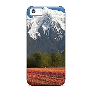Sanp On For Iphone 6 plus (5.5) (canadian Flower Fiel) PC iphone For Iphone Cases case miao's Customization case