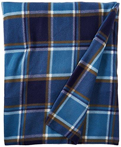 Biddeford Blankets 4442-907484-479 Heated Throw, 50 by 62-Inch, Blue Plaid (Biddeford Blankets Cord)