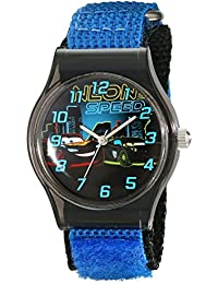 Kids' W001713 Cars Analog Blue Watch