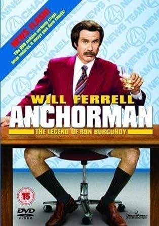 Anchorman - The Legend Of Ron Burgundy Reino Unido DVD ...