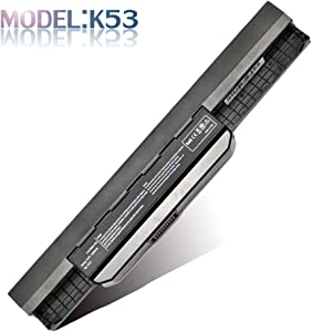 New K53 K53E Laptop Battery Compatible with Asus A43 A53 A83 K43 K54 K84 K93 N53 Series Fits A31-K53 A32-K53 A41-K53 A42-K53 A43EI241SV-SL