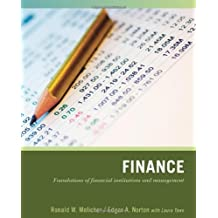 introduction to finance melicher norton Find great deals for introduction to finance by ronald w melicher and edgar a norton (2013, paperback) shop with confidence on ebay.