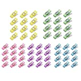 Angelduck 50Pcs Quilting Clips for Sewing Binding