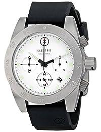 Electric Men's EW0030030002 DW01 PU Band Analog Display Japanese Quartz Black Watch
