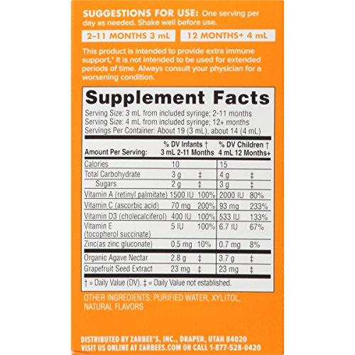 Zarbee S Naturals Baby Probiotic Supplement Vitamins For