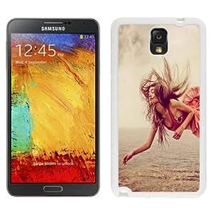 NEW Unique Custom Designed Samsung Galaxy Note 3 N900A N900V N900P N900T Phone Case With Red Dress Girl Levitation_White Phone Case