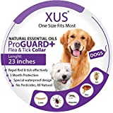 Dog Collar - Natural Essential Oils Flea & Tick Repellent (One Size Fits Most) 23 inch