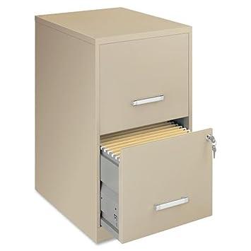 NEW Filling Cabinet Steel File Cabinet, 2 Drawer, 14 1/4u0026quot