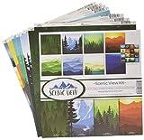 Reminisce Scenic View Scrapbnook Scrapbook
