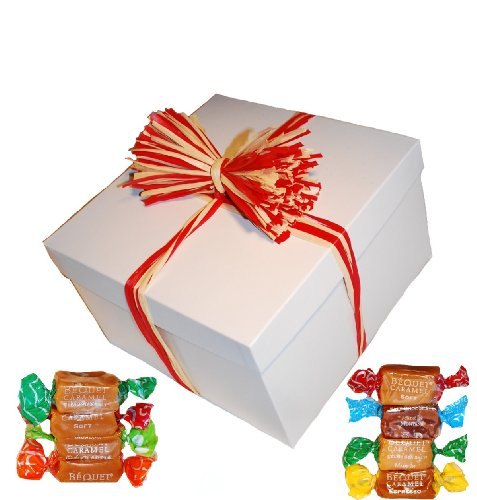 Bequet Caramels 5lb GIFT BOX (Assorted Flavors - 11 total flavors)