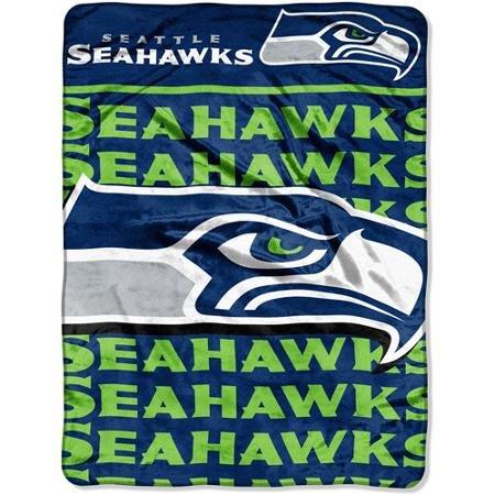 NFLシアトルシーホークス46 Raschel x 60 x Micro Raschel Throw 60 B00ZJ6DKU2, ミュージックハウス フレンズ:b2426cf8 --- lindauprogress.se