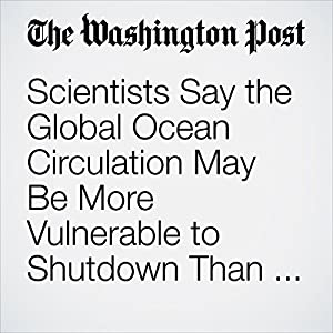 Scientists Say the Global Ocean Circulation May Be More Vulnerable to Shutdown Than We Thought