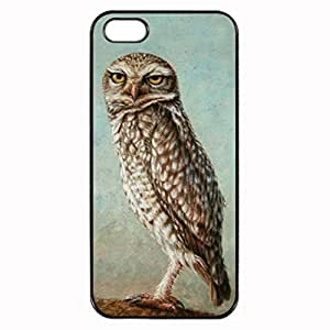 iPhone 5 5S Case - Burrowing Owl Patterned Protective Skin Hard Case Cover for Apple iPhone 5 / 5S - Haxlly Designs Case
