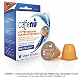 CAFFENU Nespresso Machine Cleaner Capsules - 5 Cleaning Pods compatible with Nespresso Originaline - Coffee Maker Cleaner Pods Cleans Brew Chamber Exit Spout and Nozzle