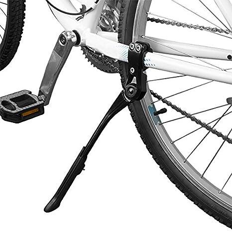Kickstands Sporting Goods Black MTB Road Bike Side Kickstand MTB Bicycle Adjustable Alloy Stand Side Kick