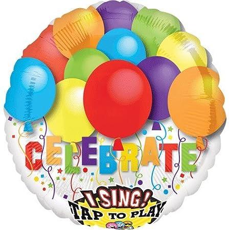 Sing de largo * Globo * CELEBRAR * Para cumpleaños o ...