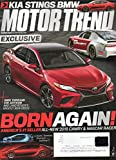 Motor Trend Magazine 2017 BMW 540I M Sport GMC TERRAIN VW ARTEON AND LAND ROVER'S Honda CR-V Re-Engineers and Reissues A Best Seller