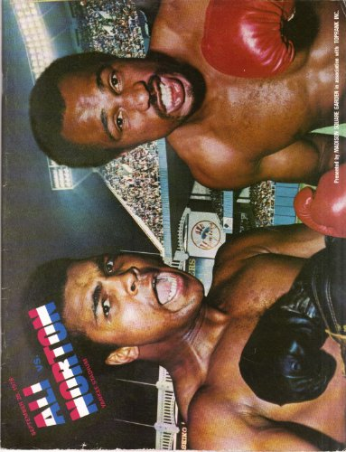 - Ali Vs Norton World Heavyweight Championship Program