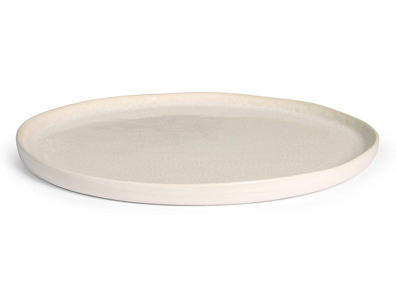 H&H 733017 Montblanc - Plato llano, Stoneware, 27 cm: Amazon.es: Hogar