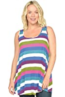 NOM Wesley Maternity Tank Top - Multi -Large