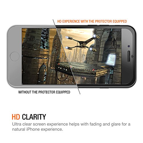 best value 73cbc 41710 Trianium iPhone 7 Tempered Glass Screen Protector (2 Pack + Guidance Frame)  for iPhone 6 iPhone 6s Screen Protectors 2016 2015 0.2mm [3D Touch] ...