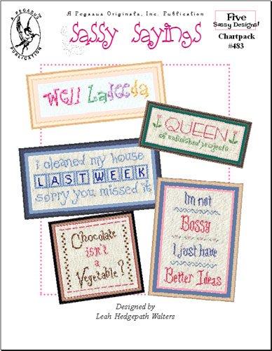 Pegasus Originals Sassy Sayings Counted Cross Stitch Chartpack