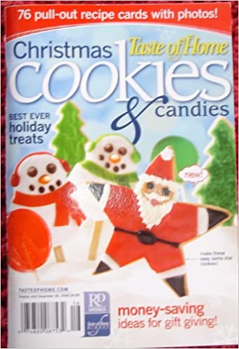 Taste Of Home Christmas Cookies Candies Catherine Cassidy