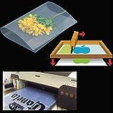 (400 sheets,13''x19'')Waterproof Inkjet Silk Screen Printing Transparency Film Paper