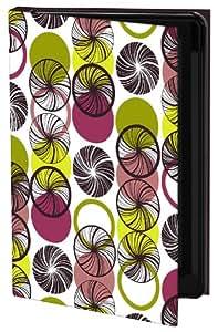 Keka Geo Swirls - Funda para Samsung Galaxy S4 (fijación a presión), diseño de Mel Smith