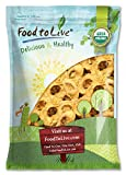 Food To Live Certified Organic Dried Apple Rings (Non-GMO, Kosher, Unsulfured, Bulk) (5 Pounds)