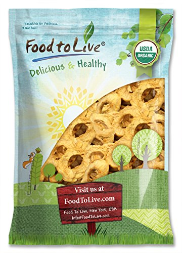 Food To Live Certified Organic Dried Apple Rings (Non-GMO, Kosher, Unsulfured, Bulk) (5 Pounds) by Food to Live (Image #8)