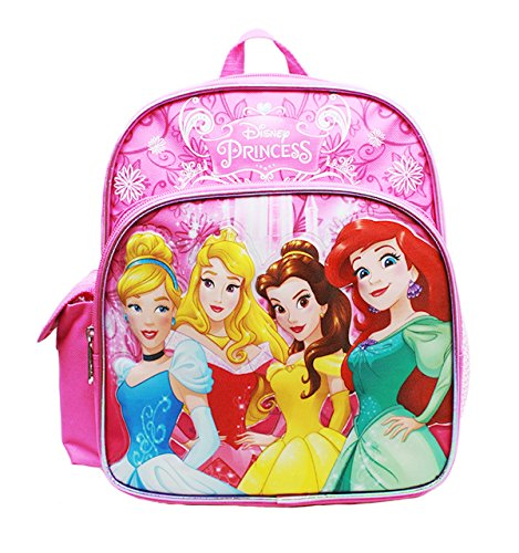 Mini Backpack - Disney - Princess - Cinderella Aurora Bella & Ariel New ()